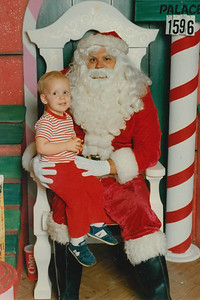 Christopher and Santa