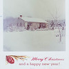 19xx-xx-xx millie stroh house in snow christmas card