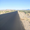 June 16, 2010 - On a trip out to Barstow California, I went for a run into the Mojave Desert. Its basically dusty, hot and goes for ever.