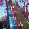 Molly on the big slide