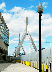Zakim Bridge from TD Garden.