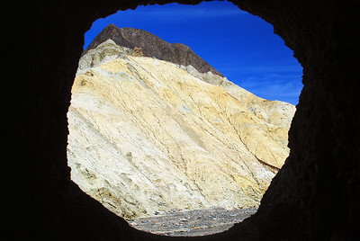 Inside the Borax Mine.