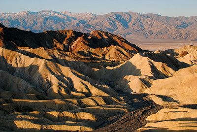 Zabriskie Point  at sunrise.