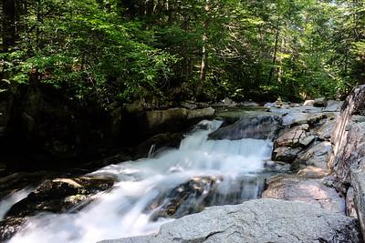 Pretty falls just off the trail.