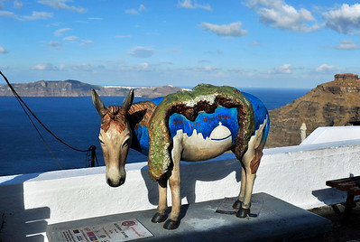 """An unusual """"map"""" of Thira."""