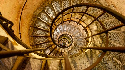 Staircase in Arc de Triomphe