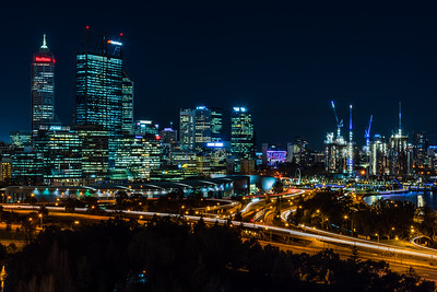 View of Perth City Center from Kings Park.