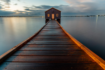 Crawley Edge Boatshed.