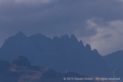 Jagged peaks like these are common.