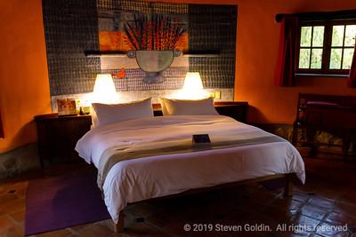 Our room at the Sol y Luna resort
