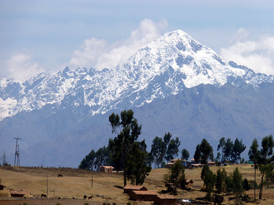 On the way to the Sacred Valley Everywhere you look it is spectacular