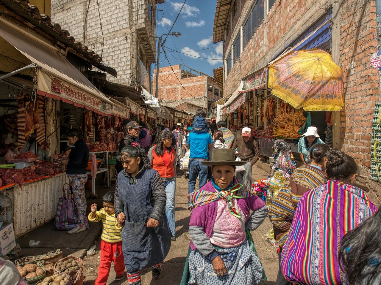 San Pedro Market, Cusco, Peru