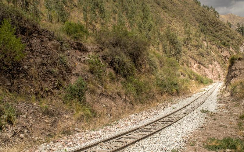 On the Hiram Bingham train to Machu Picchu