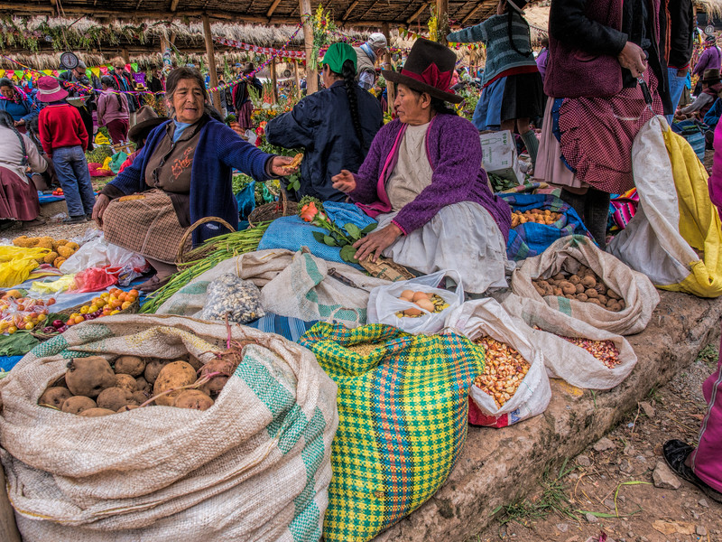 Chinchero Sunday Market, Sacred Valley, Peru
