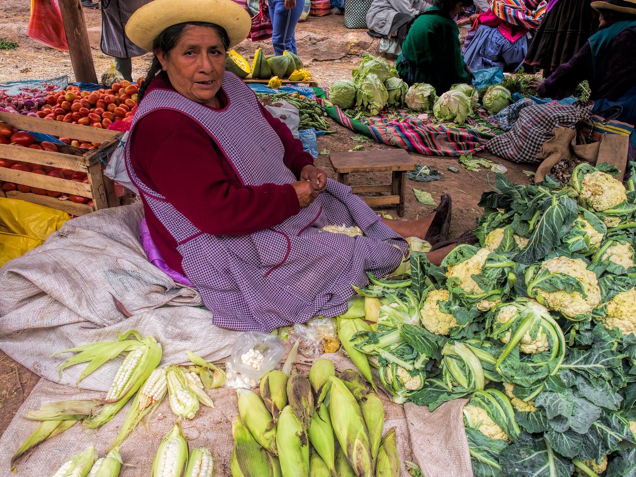 Chinchero Sunday Market, Sacred Valley, Peru