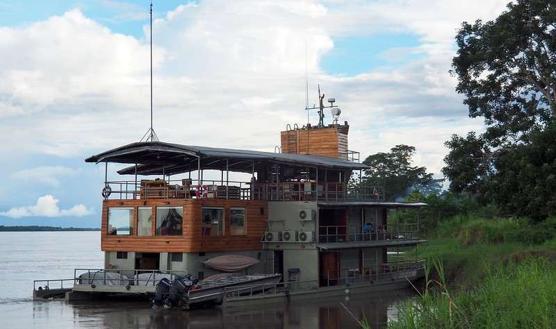 Cruising the Amazon River