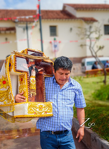 combination of traditional Andean beliefs and Catholicism that defines religion in the Andean region of Latin America.