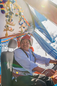 Next stop - 3 hour boat ride from uros lands to one of the remote islands on the lake. Taquile Island.