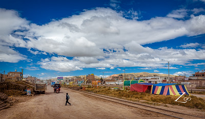 some local town on our way from puno to cusco