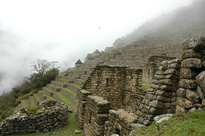 Terraces for Growing Food: Machu Picchu