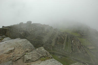 Machu Picchu is at 7,000 Ft. Elevation