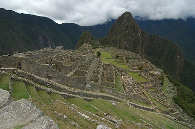 A Clear View of Machu Pichu