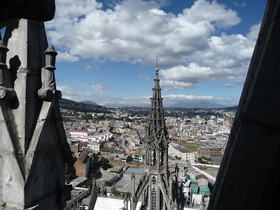 We had amazing weather - warm, mostly sunny, Quito was splendid.