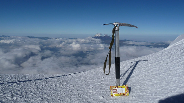 The marketing shot for ProBar.  Had two of them on the way up.  Nutty Banana Boom at the top.