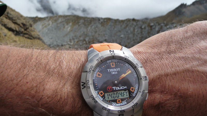 Glorious 14k.  Getting to the top of the Salkantay Abra pass.  Shout out to all the peaks in Colorado!
