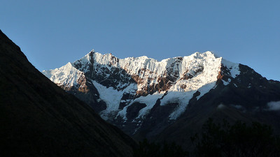 Sal Kan Tay Abra - crisp and towering range that we crossed over en route to Aguas Calientes!