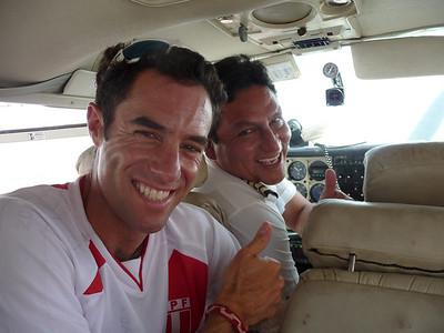 Our pilot was a rockstar.