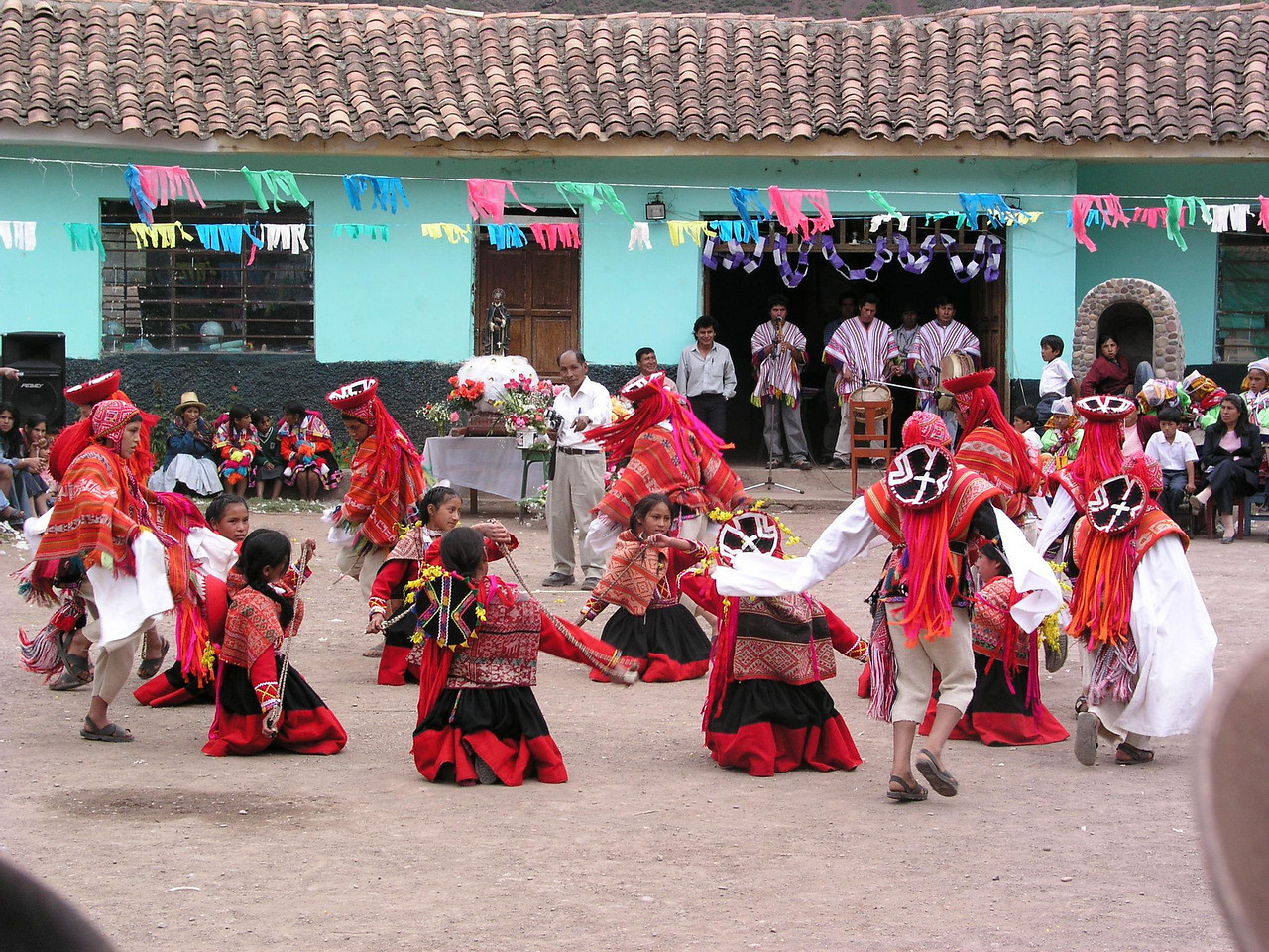 Dance customs were alive and well in the Sacred Valley.