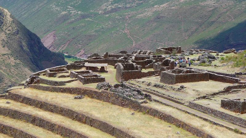 Ruins of Pissaq, the main village.