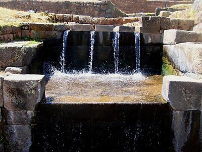 Machu Picchu irrigation!