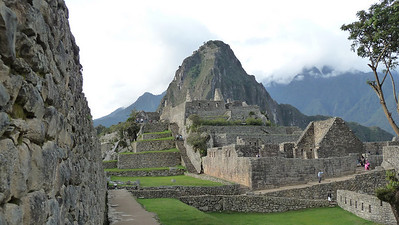 That mountain is Waynapicchu, our next stop!