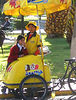 Ice-cream vendor by trike