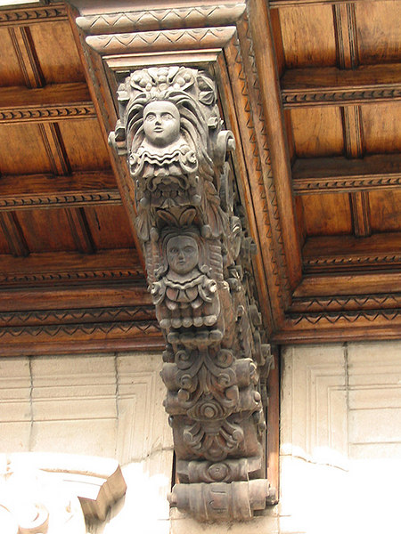 Detail of carving
