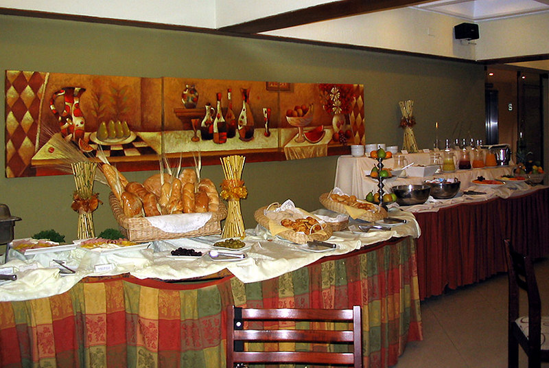 Introduction to Peruvian / Spanish buffet breakfast