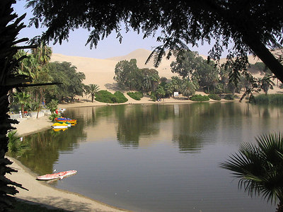 Huacachina Oasis and further on