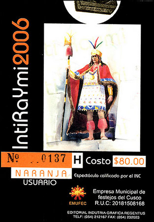 Inti Raymi (Part III)