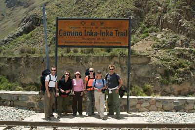 Inca Trail. Day 1. 11.23.07.