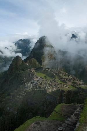 Inca Trail, Day 4. Machu Picchu.