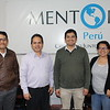 Ames Berastegui, program manager, Julian  Sarria, executive director, Junior Tarfur, Accountant and Sheyla Miranda, credit manager