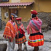 This is the first of 20 photos taken on election day  (10/21/2018) in the town of Ollantaytambo, Peru.  As you'll see, on election day (which is always on a Sunday in Peru) everyone in the area came into town to vote, wearing their Sunday best.  It was almost a party atmosphere, and very colorful!