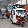 These funny little taxicabs can be seen everywhere in the smaller towns of the Sacred Valley.