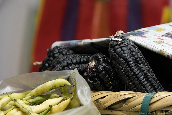 To market, to market - to buy some black corn