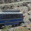 Train from Ollantaytambo to Aguas Calientes, below Machu Picchu