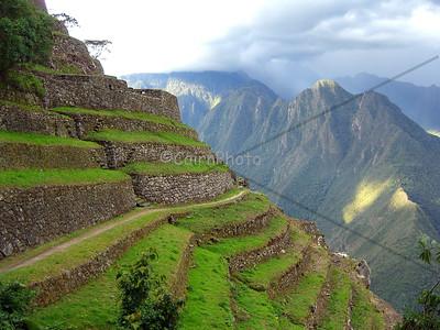 Beautiful terraces near Phuyupatamarca.