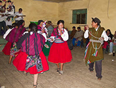 Showing us some local folk dances