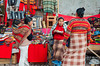 The village market in the Urubamba Valley in Andahuaylillas, Peru.